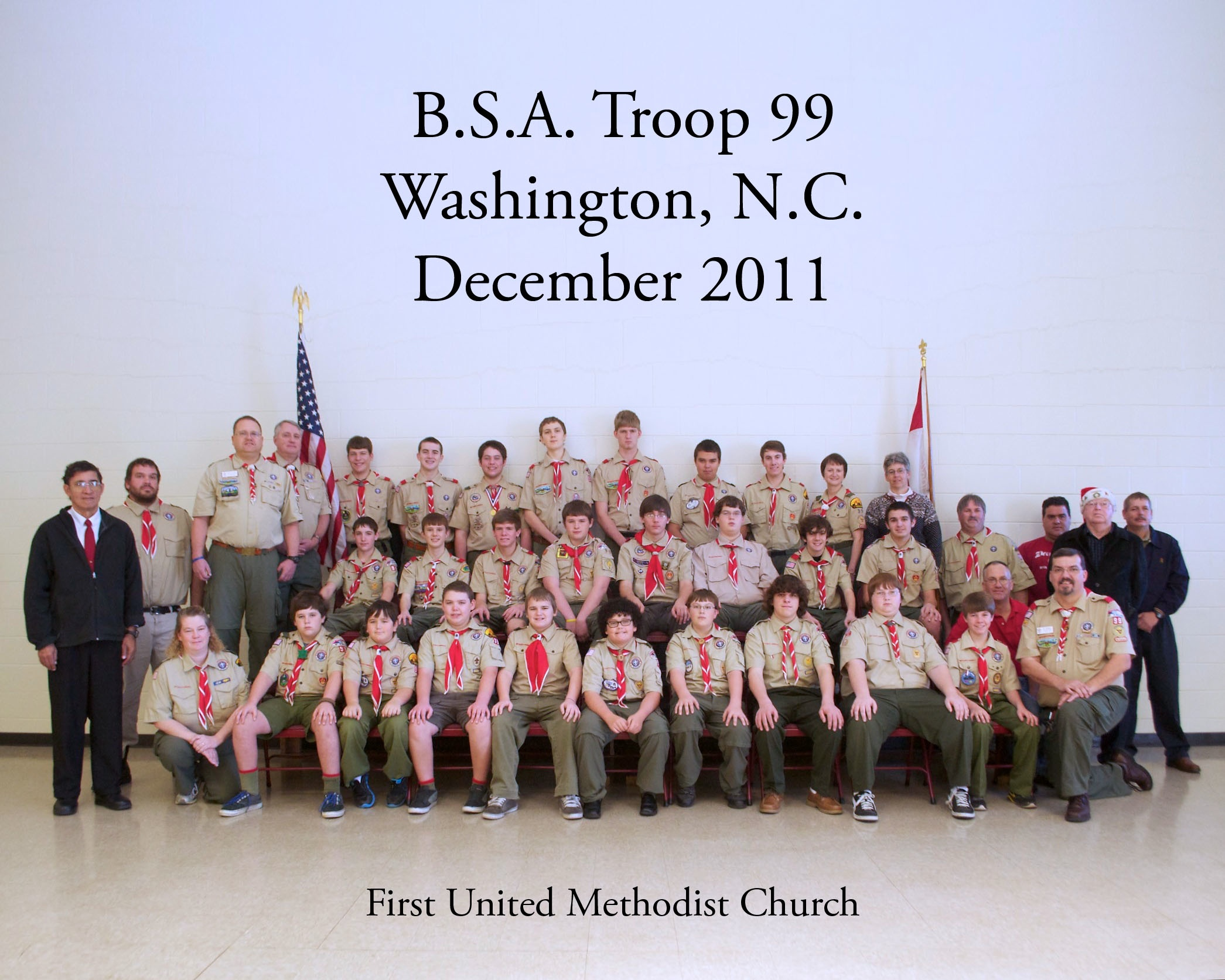 BSA Troop 99 - Washington, NC - December 2011